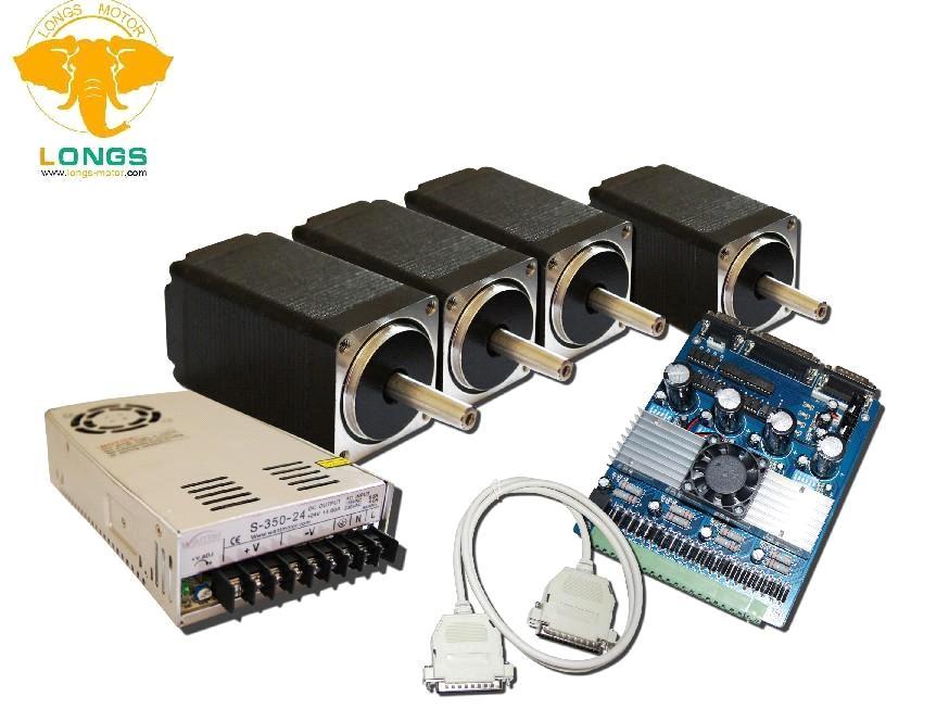 4pcs nema 11 stepper motor driverbaord tb6560 power kit for Nema 11 stepper motor