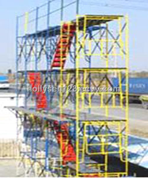 A Frame Folding Trestle For Scaffolding