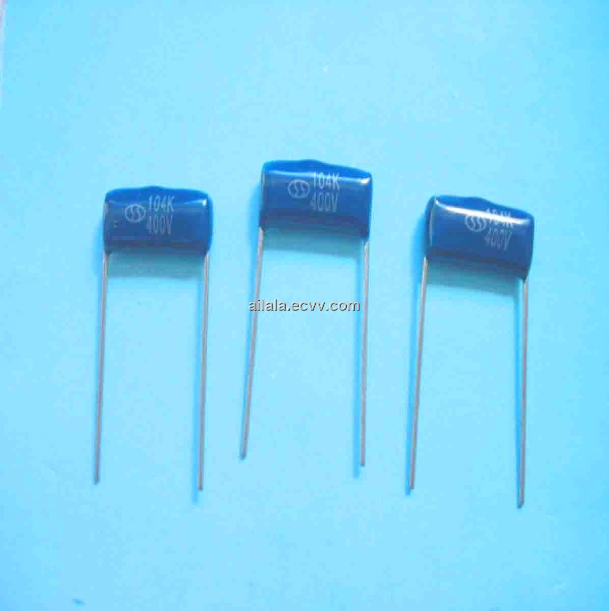 Mini Metallized Polyester Film Capacitor Cl21x