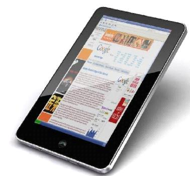 tablet pc e book reader google android apad usd68 pc m002 china