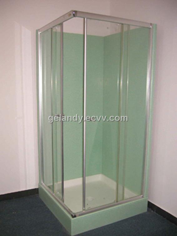 acrylic solid surface shower enclose shower tray