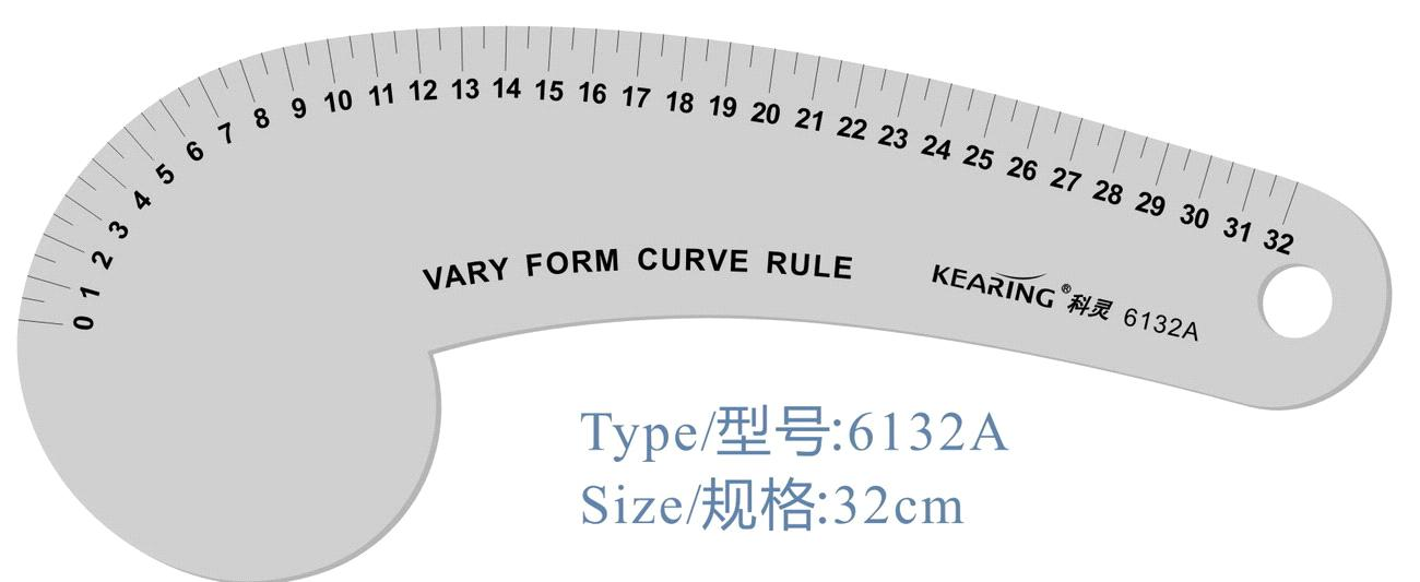 French Curve Ruler Template French Curve Ruler