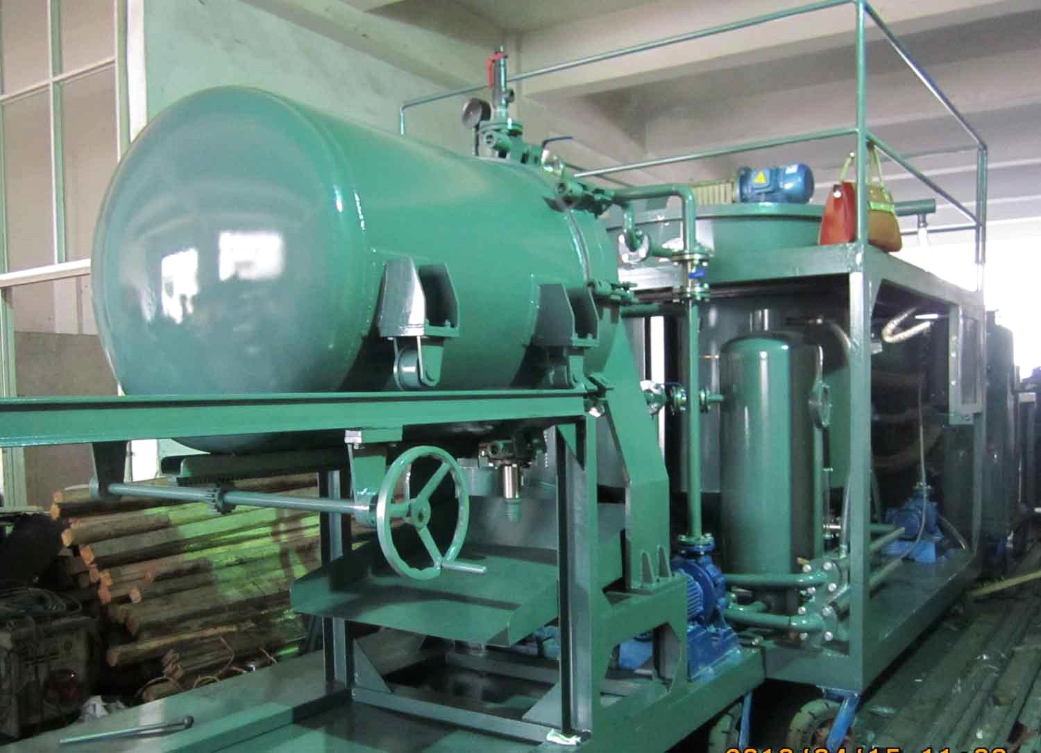 Advanced Engine Oil Purifier Oil Recycling Machine