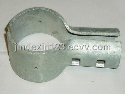 End Rail Clamp Chain Link Fence