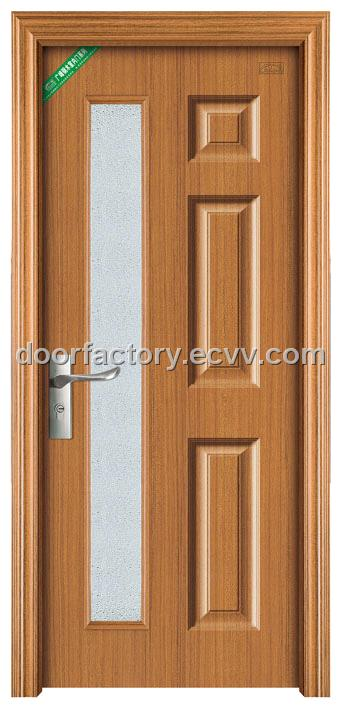 wood glass doors 1