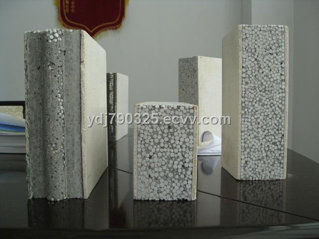 Lightweight Eps Sandwich Panel : Eps cement lightweight sandwich panel production line