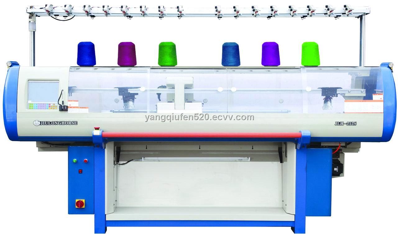 Fully Fashion Computerized Flat Jacquard Knitting Machine