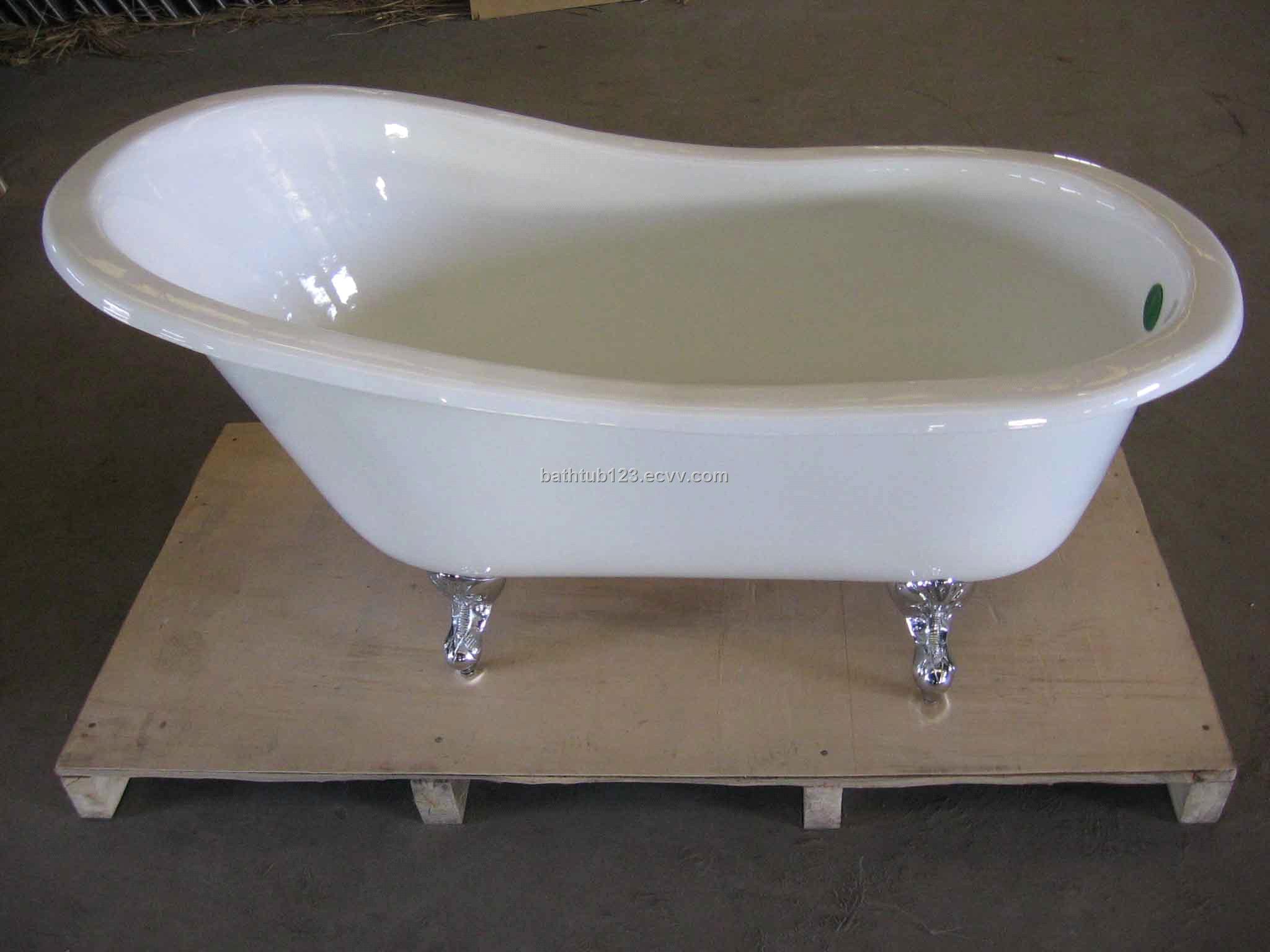 Simple Cast Iron Bathtub China Bathtub