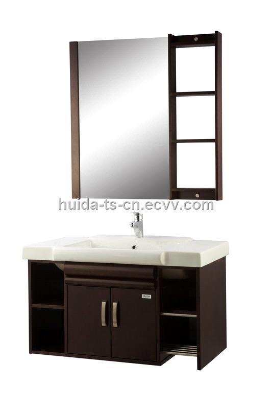 solid wood bathroom cabinet fl155 03 china bathroom