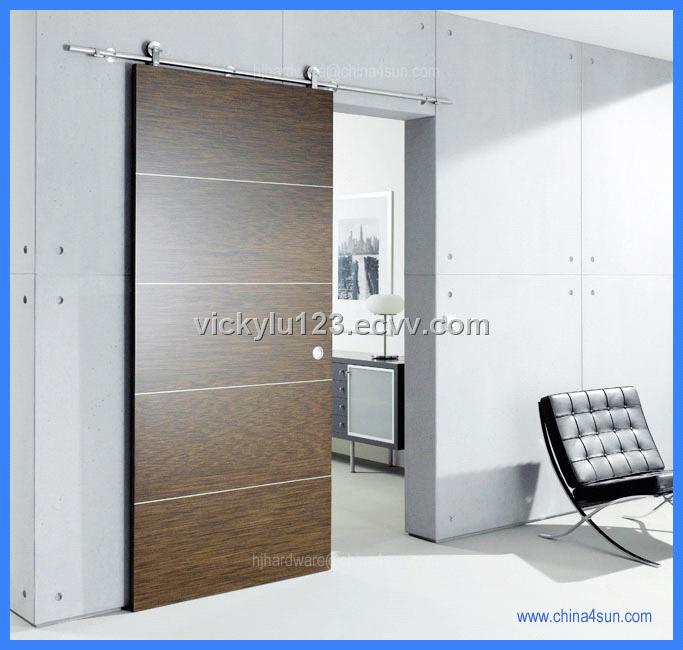 Barn door roller sliding wood door wooden door roller for Porte de salon coulissante
