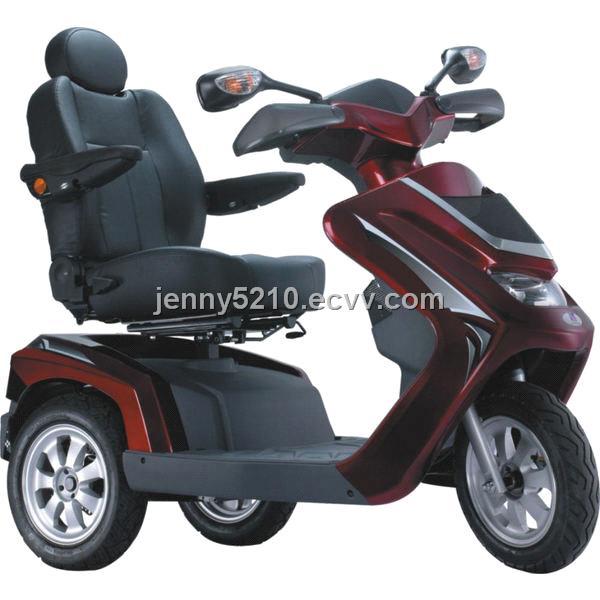 Black Stand-N-Ride Stand Up 500 Watt 24 Volt Electric 3-wheel