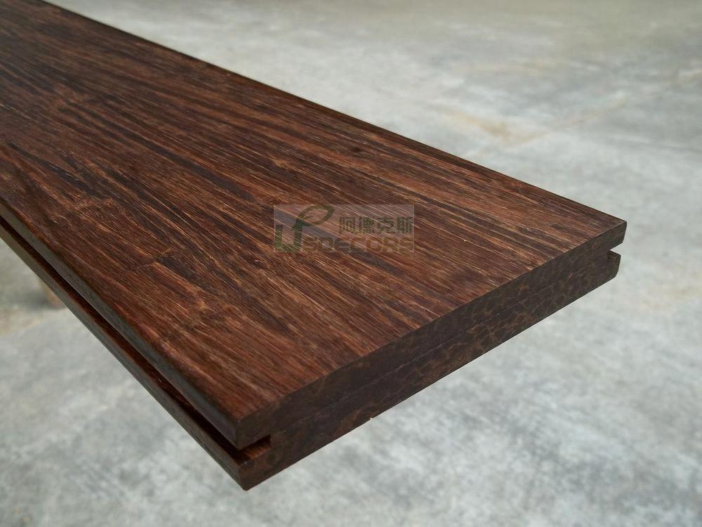 Outdoor decking strand woven bamboo flooring purchasing for Bamboo flooring outdoor decking
