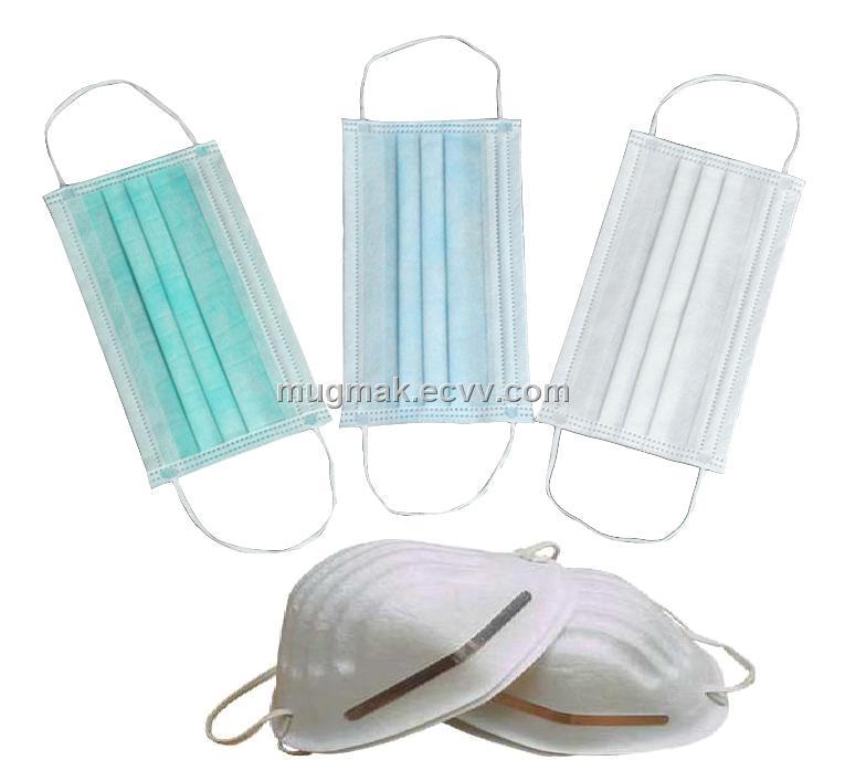 Mask Medical Nonwoven Mask Disposable Mask Plaster Mask