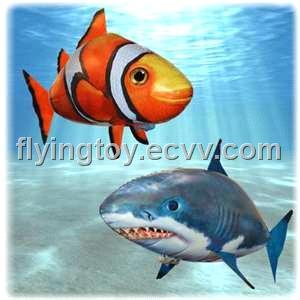 Fish novel for Air swimming fish