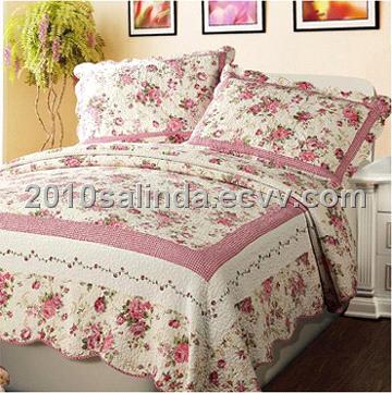Bedding Set Bedspread Quilted Bed Cover Quilt Sheet Hy011