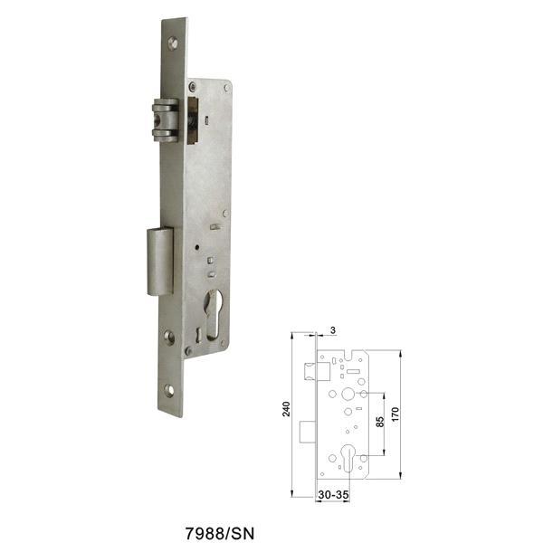 Service Body Locks : Door mortise handle lock body purchasing souring agent