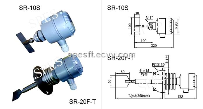 sr series rotary paddle type level switch rotary switch purchasing souring ecvv