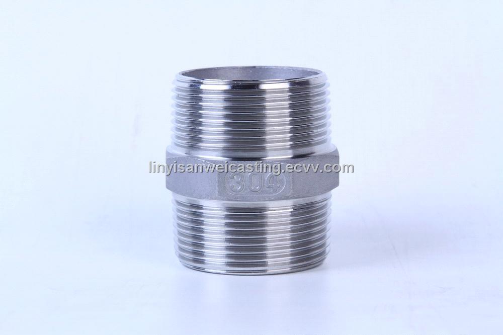 Stainless steel screwd pipe fittings screwed