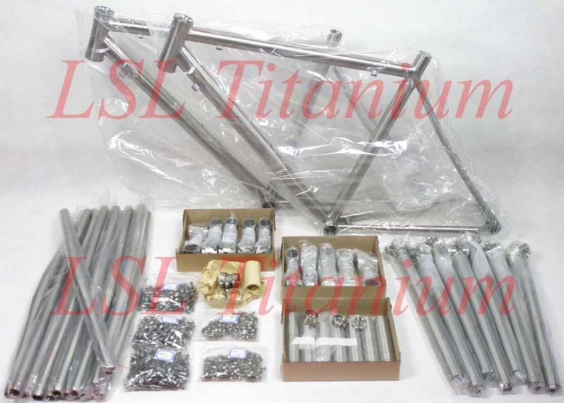 titanium bicycle frame parts
