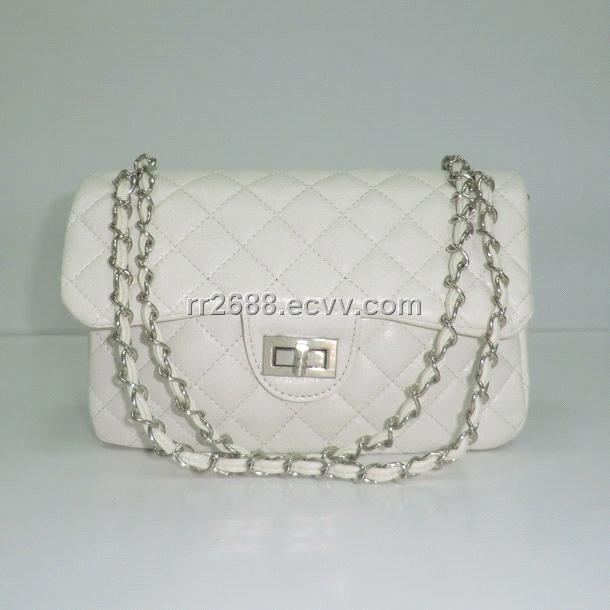 Ladies White Shoulder Bags 44