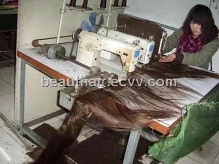 Red Hair Weft Extensions 84