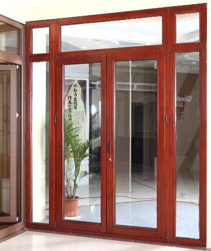 Aluminum and wood composite windows and doors purchasing for Wood doors with windows