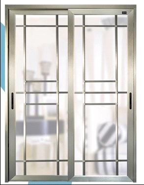 exterior aluminum door with adornment art panel available in ...