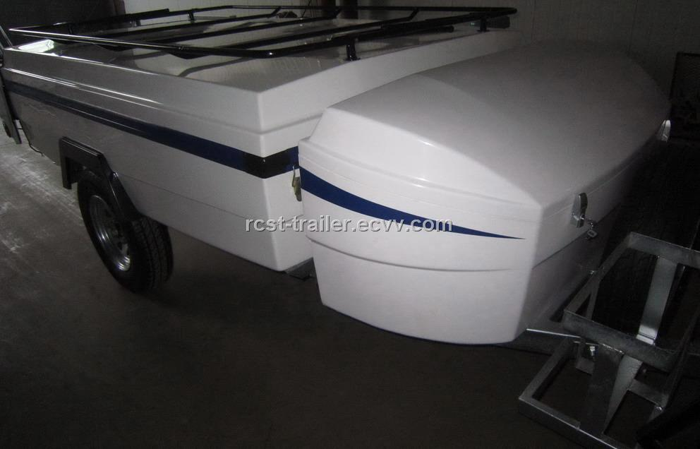Off Road Side Fold High Quality Fiberglass Camper Trailer