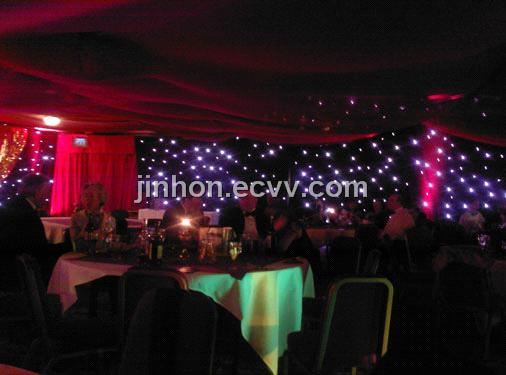 Stage Backdrop LED Star Curtain Wedding Decoration Add to Basket