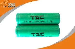 1.5V AA 2900mAh LiFeS2 Primary Lithium Battery LFAA-2S-NC-290