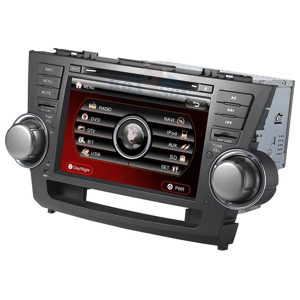 Hoy Fox Toyota El Paso Products Catalog > CAR DVD GPS Navigation Player For TOYOTA HIGHLANDER