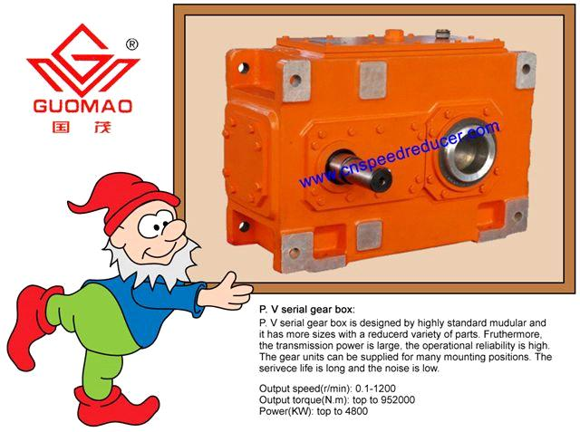 High Precision Flender Equivalent Helical Gearbox