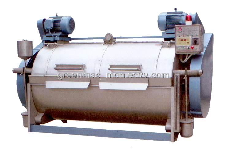 In garments washing plant, sample washing machine is an important equipment. All the sample garments are washed here. Sample washing machine is must for any garments washing plant.