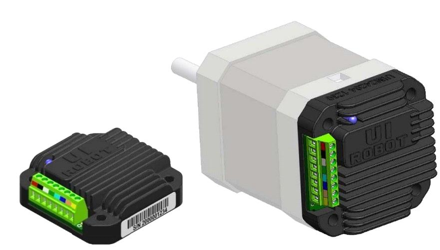 Intelligent Stepper Motor Controller With Micro Step With