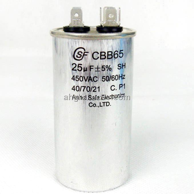 AC Motor Capacitor (CBB65A-1) (CBB65,60,61) - China motor run capacitor, Csf