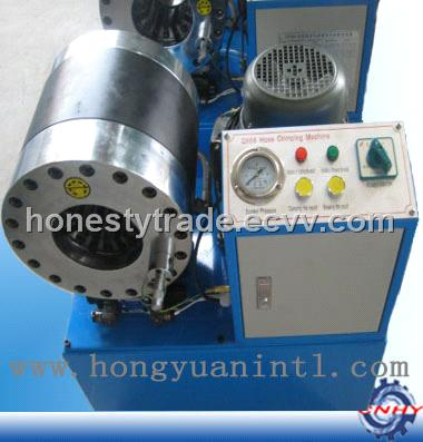Hydraulic hose crimpers