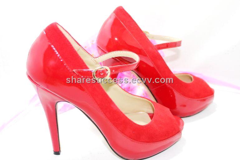 Red High Heels-198