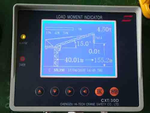 Load Moment Indicators For Cranes : Load moment indicator cxt d purchasing souring agent