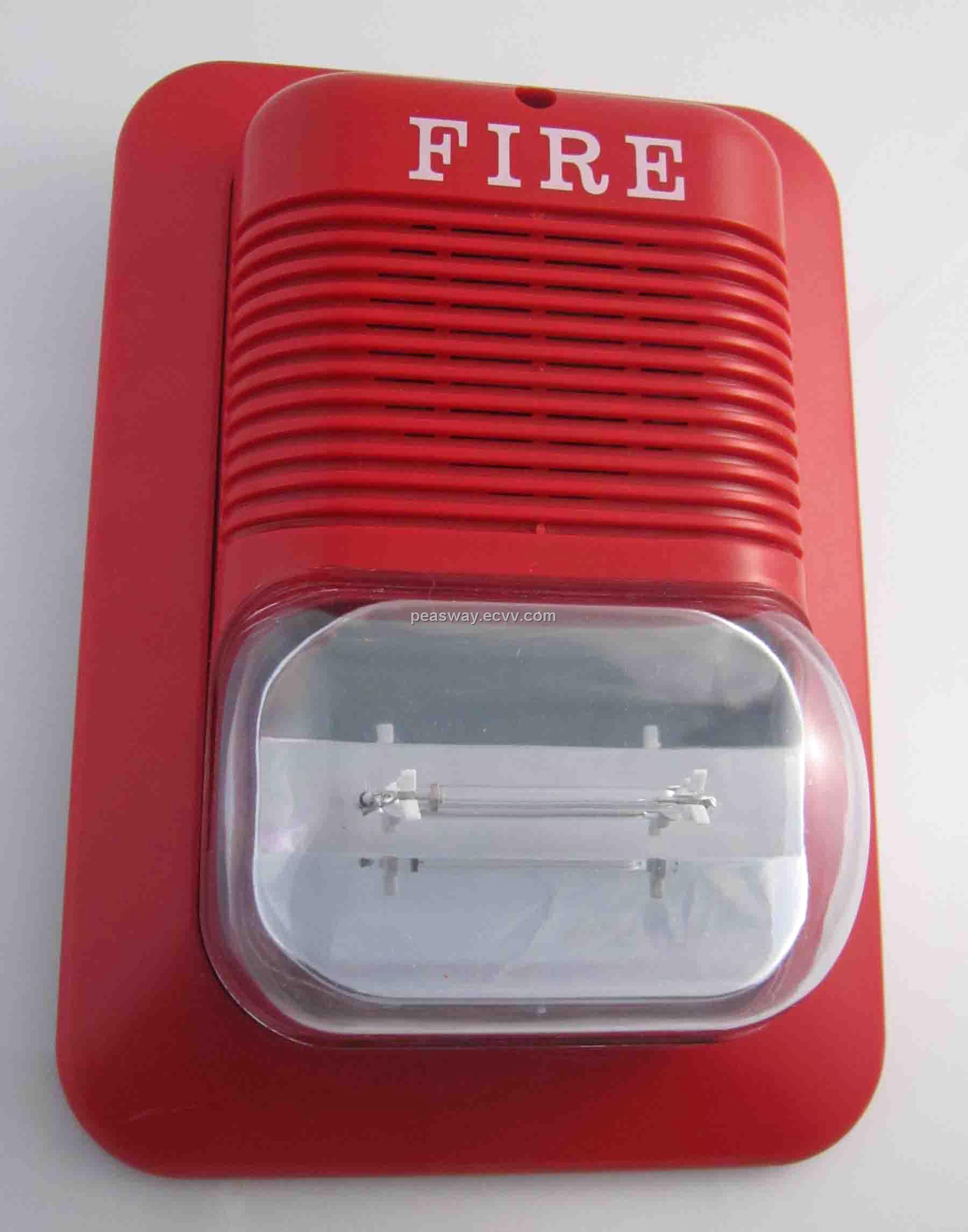 2970485 on fire alarm horn strobe lights
