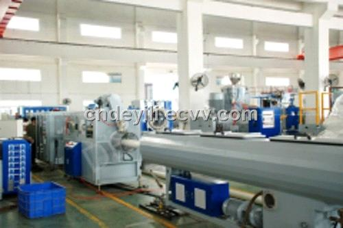 Pvc Pipe Extrusion Line Sjfg 65 132 160 From China