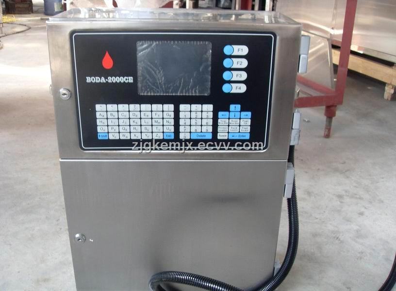 Spray code machine K900