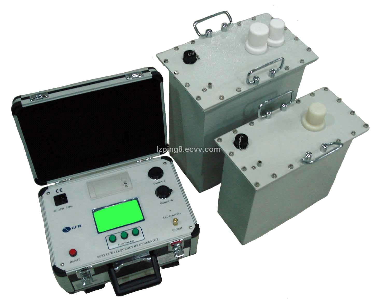 Low Voltage Hipot Tester : Very low frequemcy vlf hipot generator tester