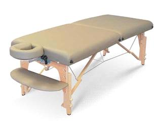 wooden massage table- LEO