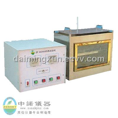 Automobile interior trim materials combustion tester for Interior trim materials