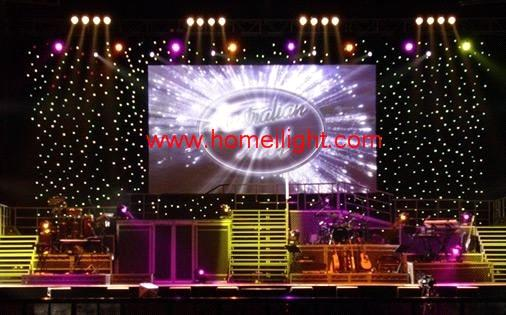 Led Star Curtain Stage Star Cloth Purchasing Souring