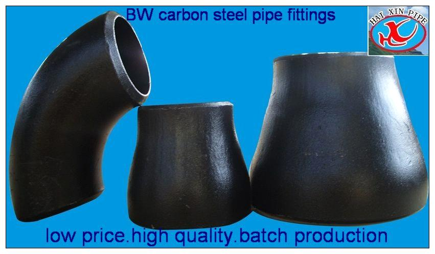 Butt welded pipe fitting elbow tee reducer cap purchasing