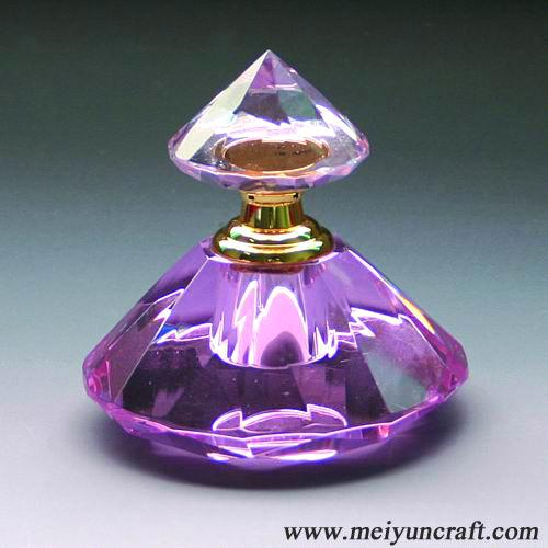 Spray Crystal Perfume Bottle (HDQ12) - China Crystal Bottle