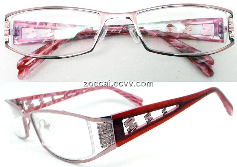 fullrim eyeglasses frames spectacle frames with diamonds ...
