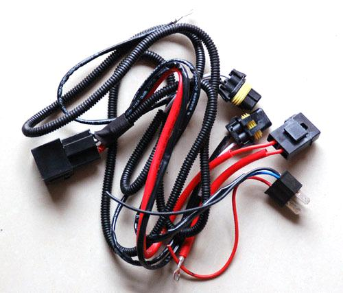 H4 Hid Xenon Relay Wiring Harness With Fuse From China