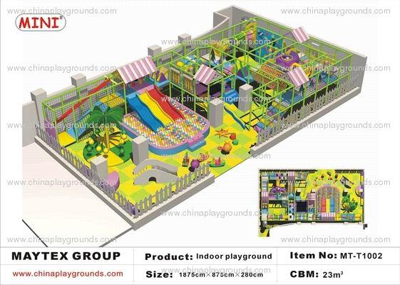 Indoor Playground Blueprints